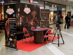 Animation Poker en galerie marchande à Auchan St Priest