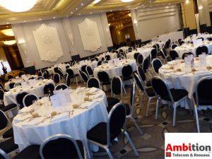 Organisation d'une animation Casino suivie d'une dîner de gala pour les collaborateurs d'une société spécialisée en Telecoms et réseaux