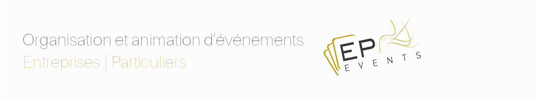 Agence EP EVENTS Logo